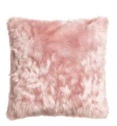 Almofada com a pele sintética Agatha Lady, Pelican Têxtil