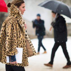 Animal print faz um look Street Style impecável