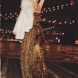 Kate Moss vestindo Dolce & Gabbana em 2013