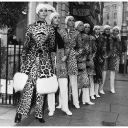 Dior lança a estampa de leopardo em 1947.