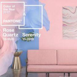 Cores Tendência Pantone 2017 – Rosa Quartzo e Azul Serenity